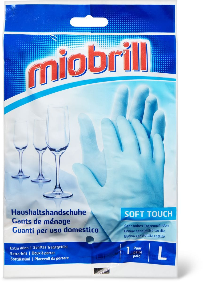 Miobrill Soft Touch Haushalthandschuhe L