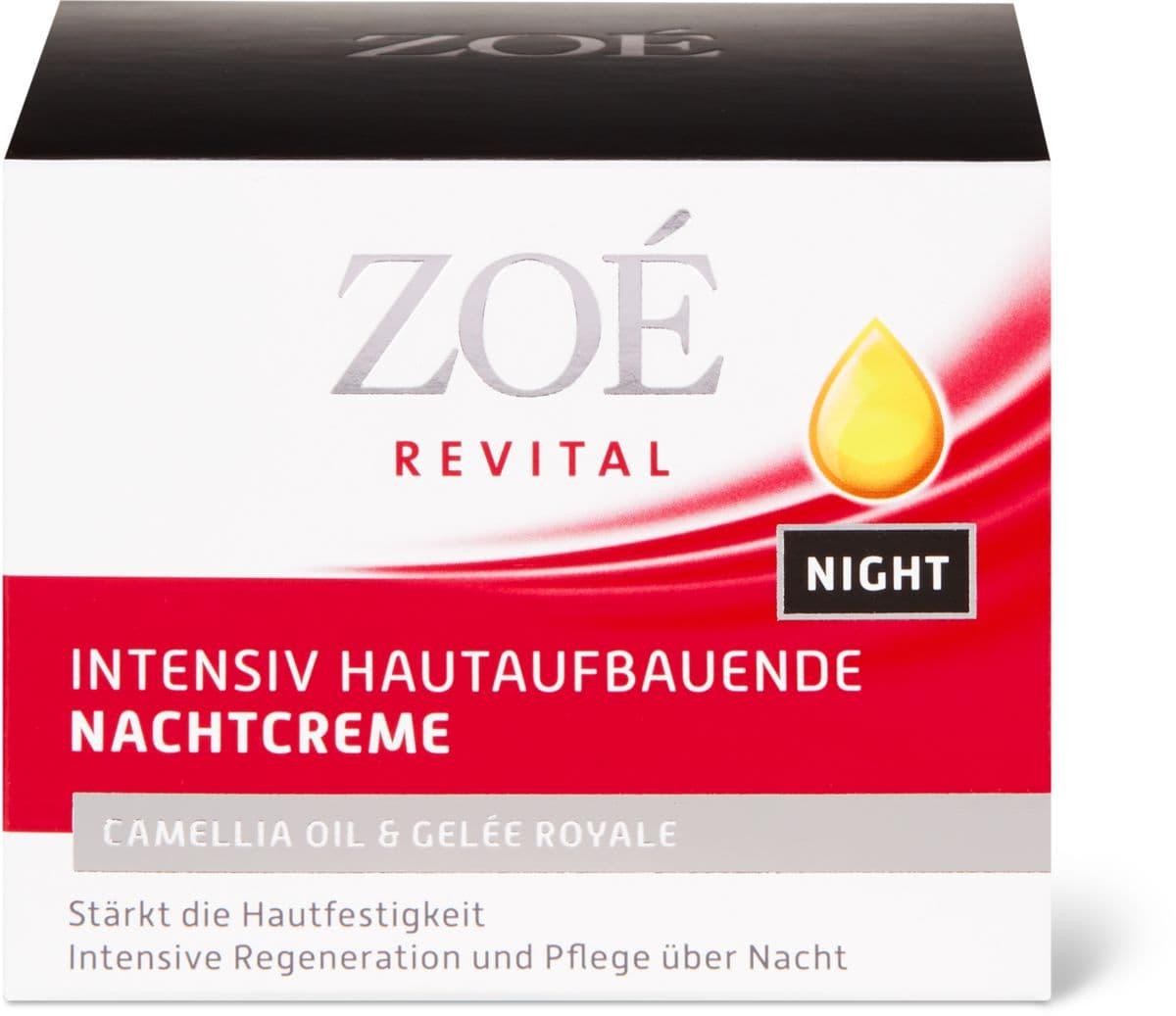Zoé Revital Crema Notte Inten.