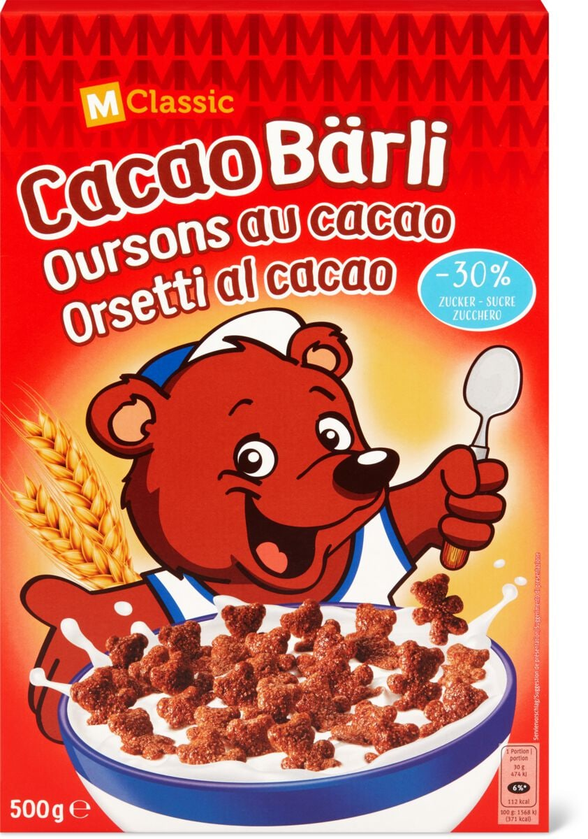 M-Classic Cacao Bärli