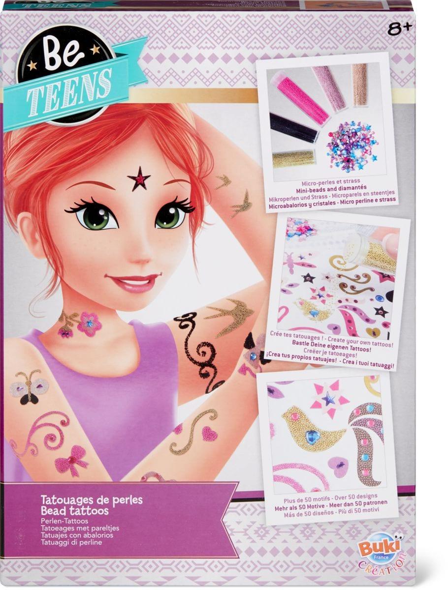 BE Teens tatoo perle