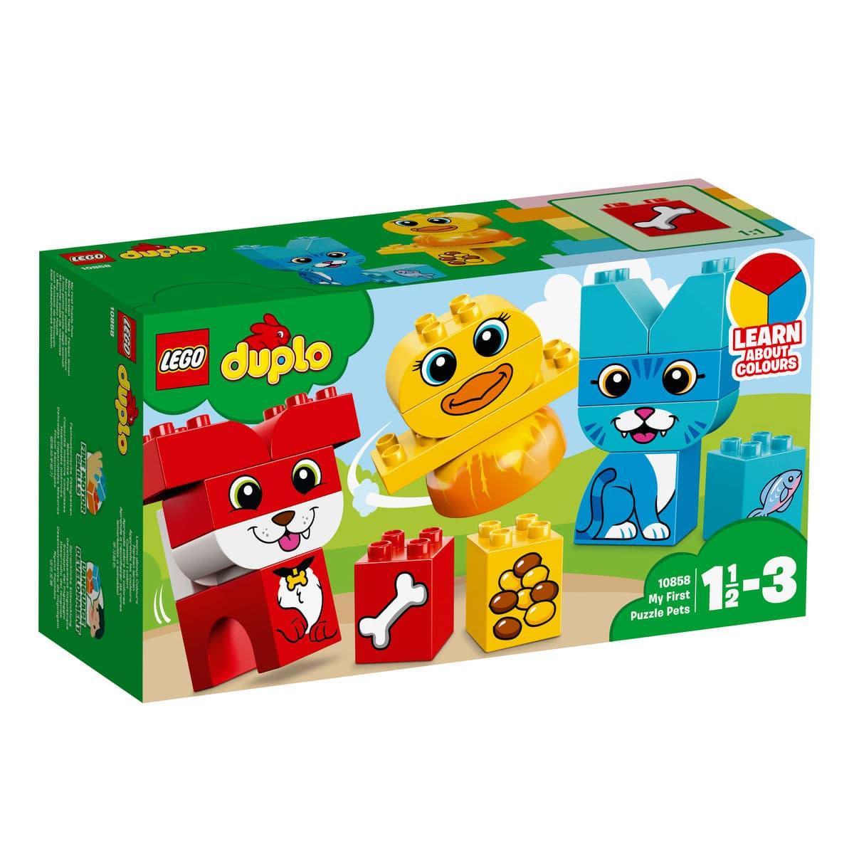 Lego Duplo 10858 Puzzle Degli Animali
