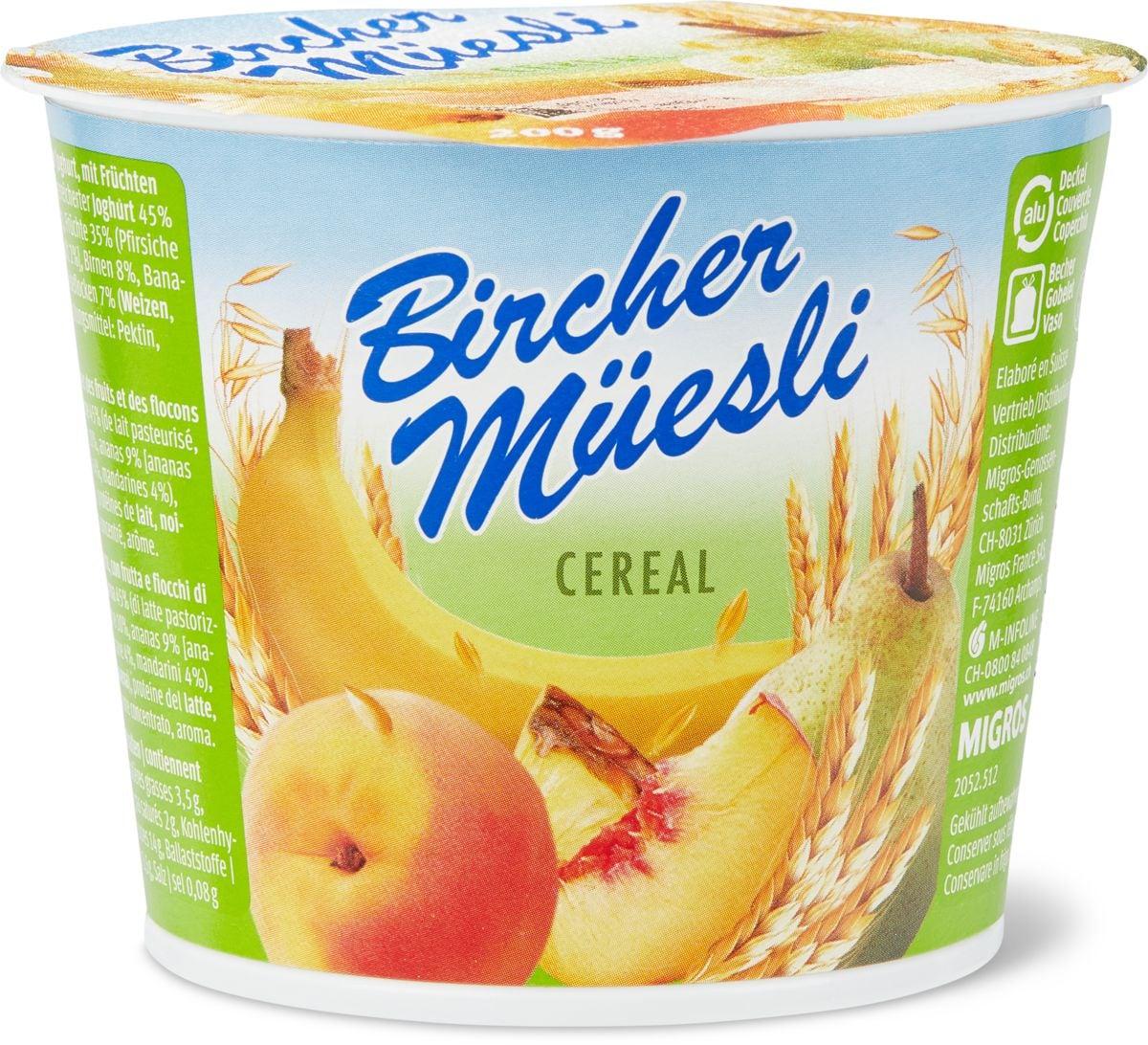 Birchermüesli Cereal