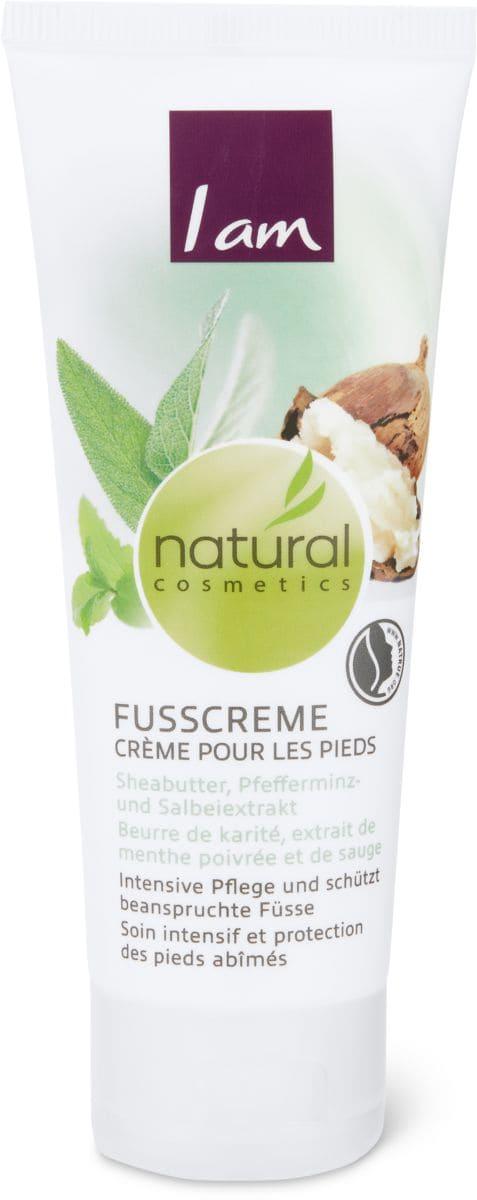 I am Natural Cosmetics creme pour les pieds