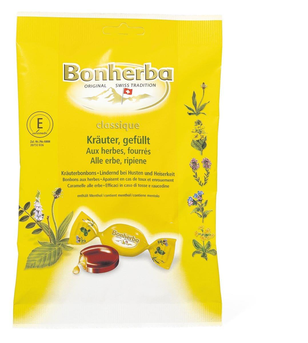 Bonherba Kräuterbonbons gefüllt
