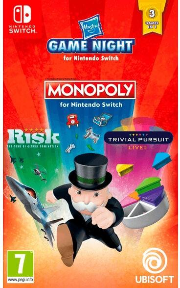 Hasbro Game Night [NSW] (D) Box