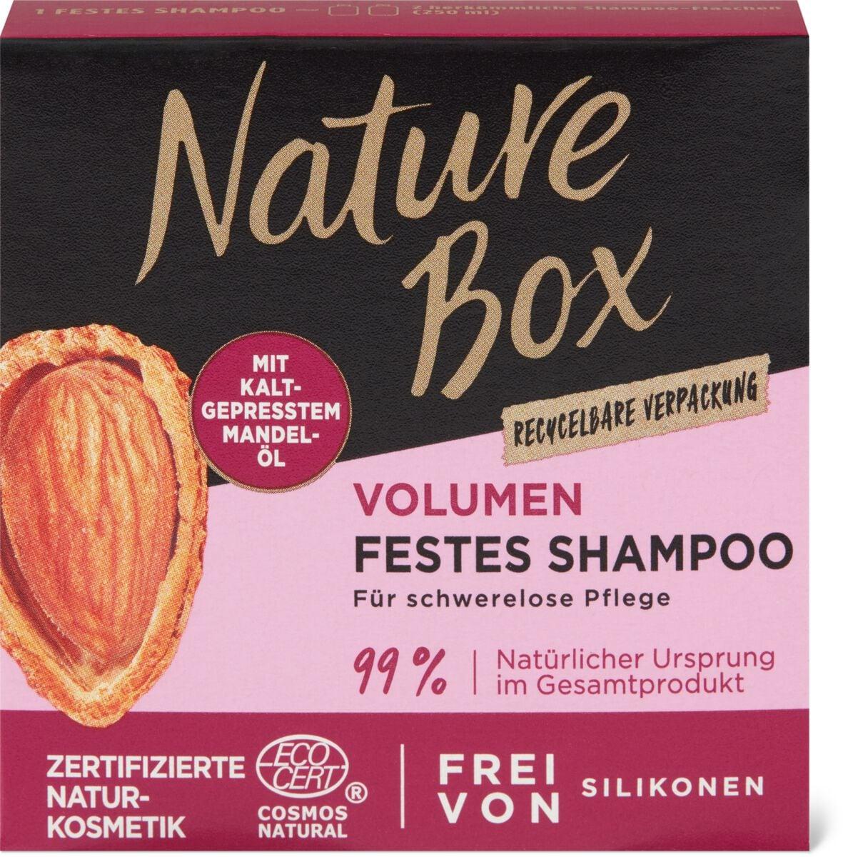 Nature Box Mandel Festes Shampoo