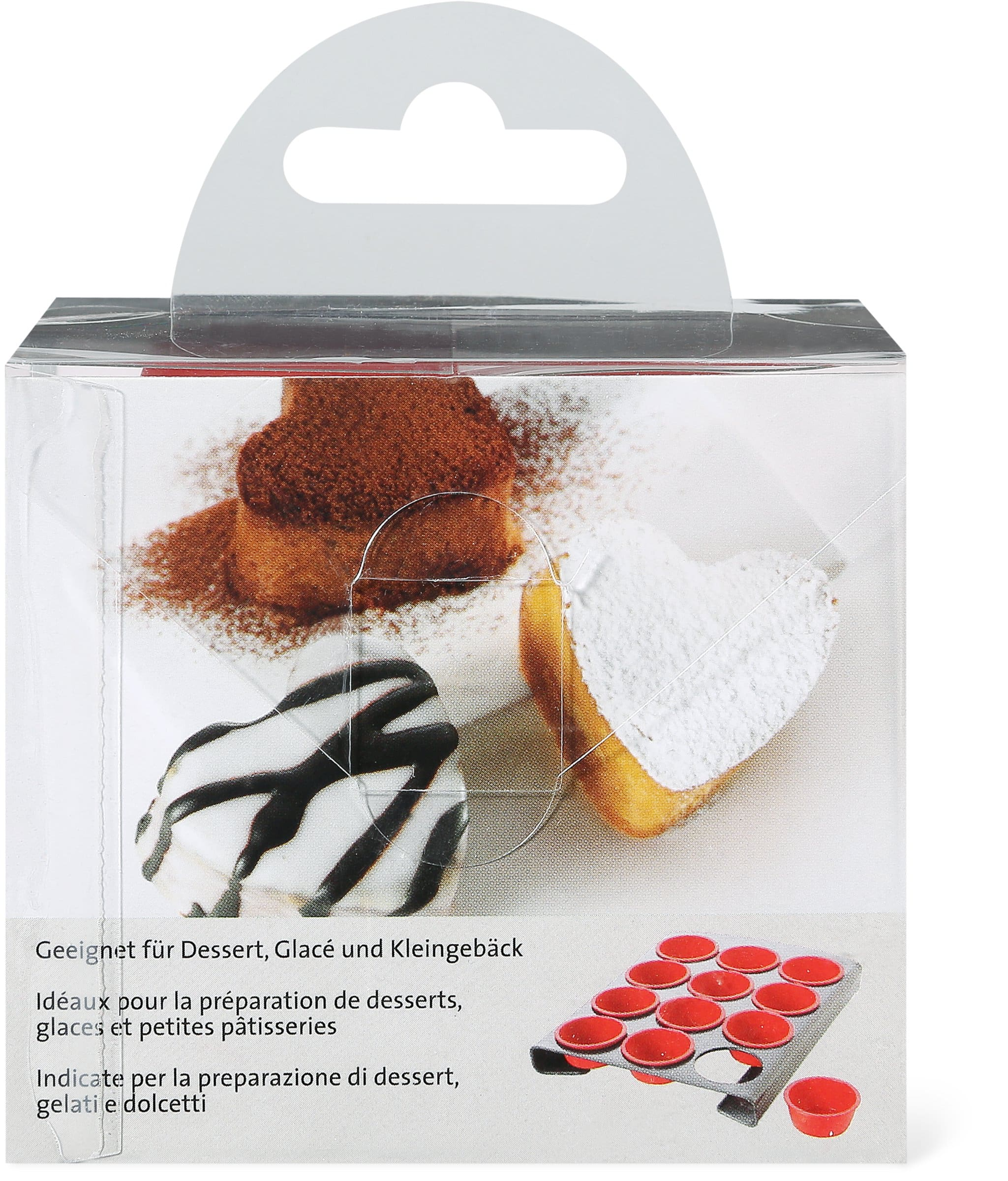 Cucina & Tavola Silikonförmchen Herz