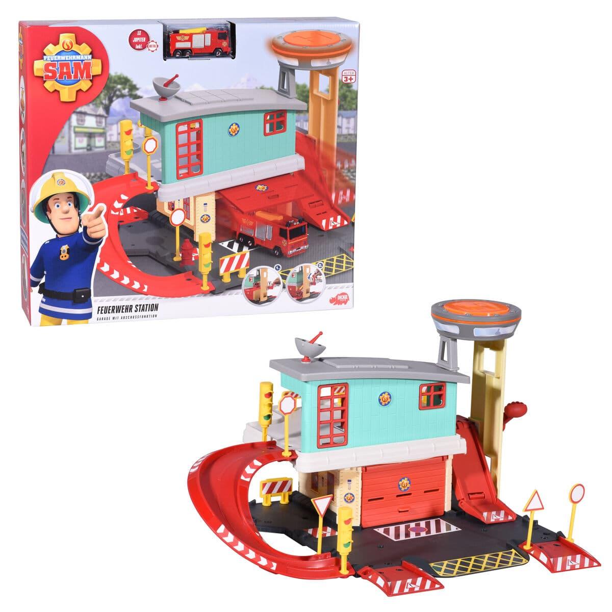 Dickie Toys Sam Fire Station Parkhaus