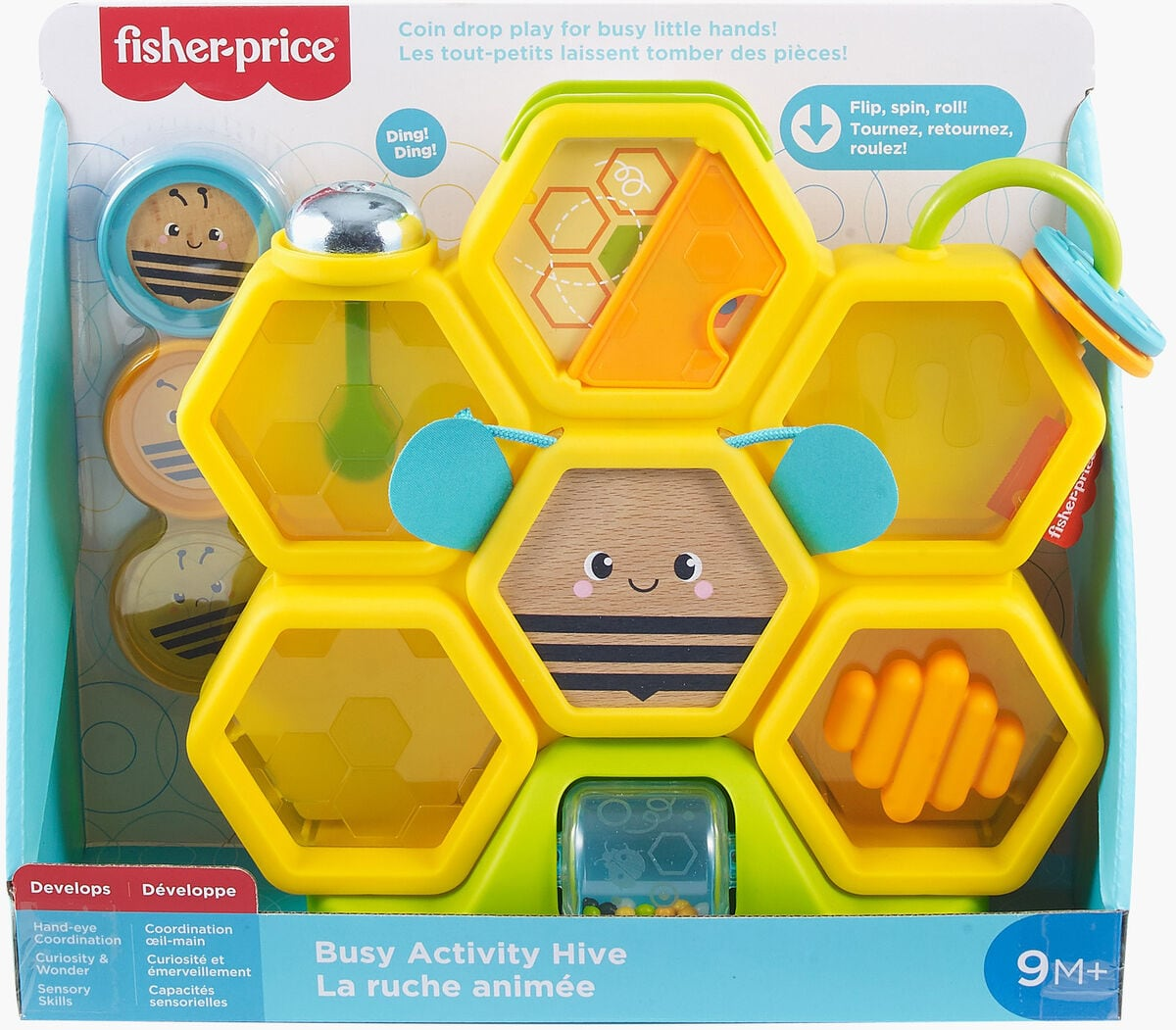 Fisher-Price GJW27 Bienenstock Spielset