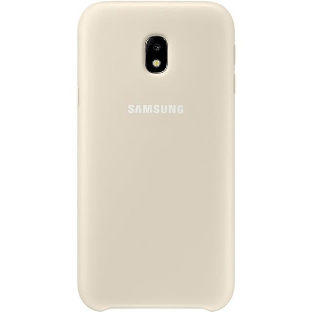 Samsung Dual Layer Cover gold Hülle