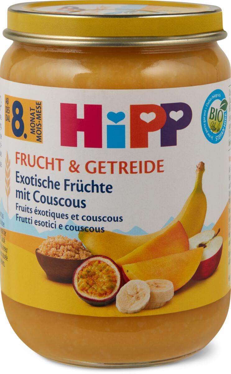 Hipp Exotische Früchte mit Couscous