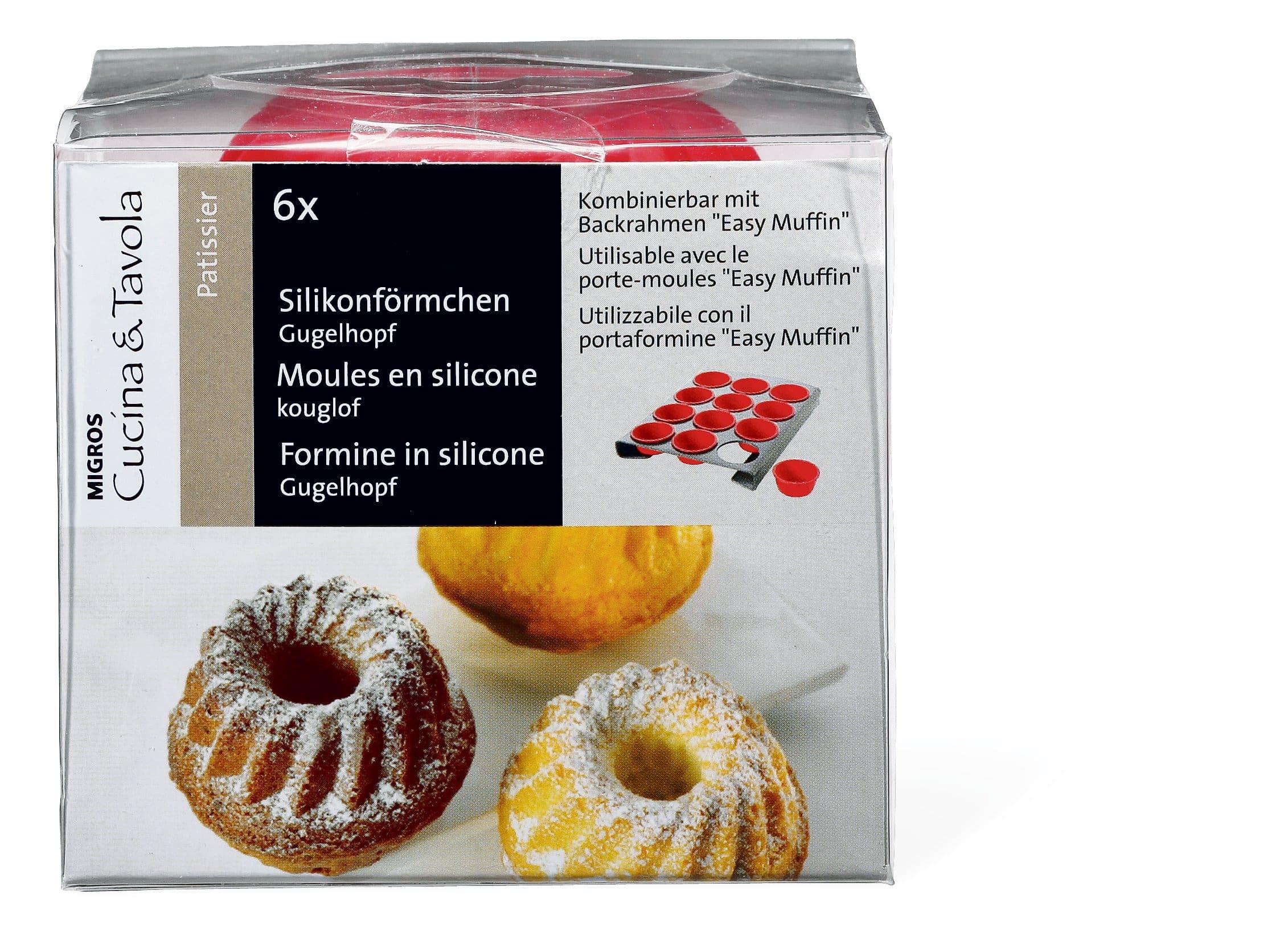 Cucina & Tavola Silikonförmchen Gugelhopf