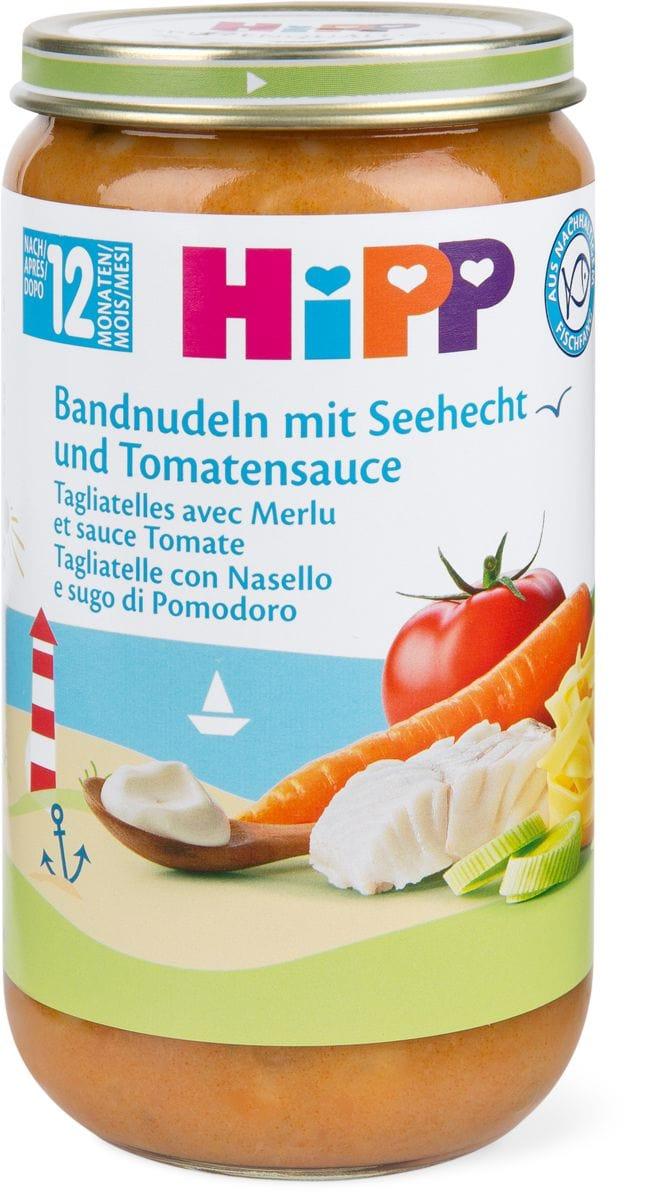 HiPP tagliatelle merluzzo pomodoro