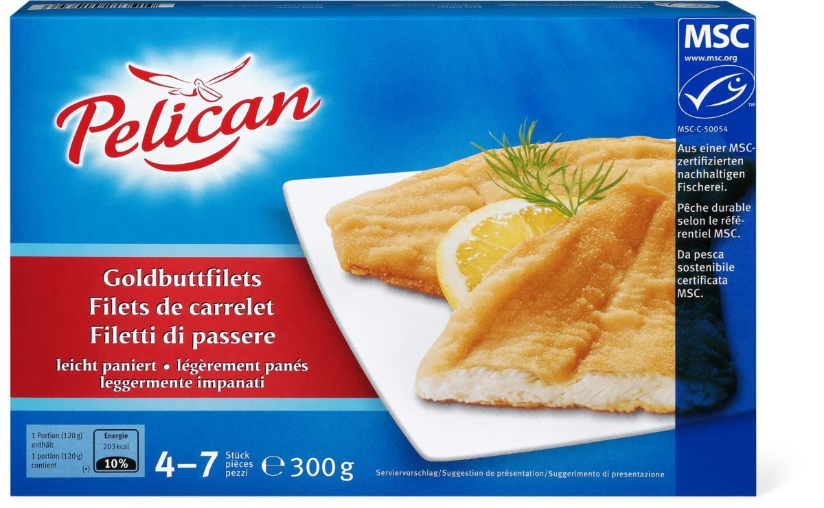 Pelican MSC Goldbuttfilet paniert