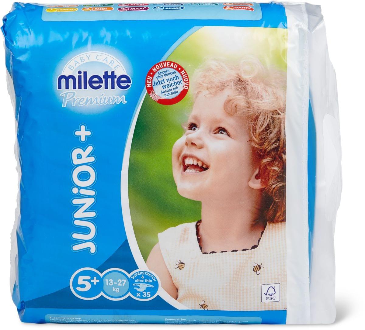 Milette Junior 5+, 13-27kg