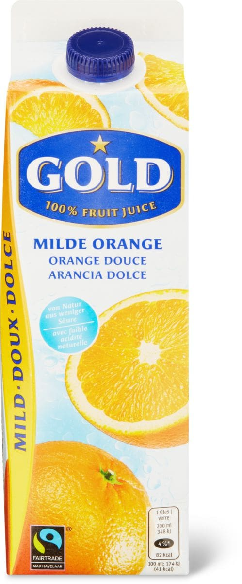 Gold Max Havelaar Orange douce