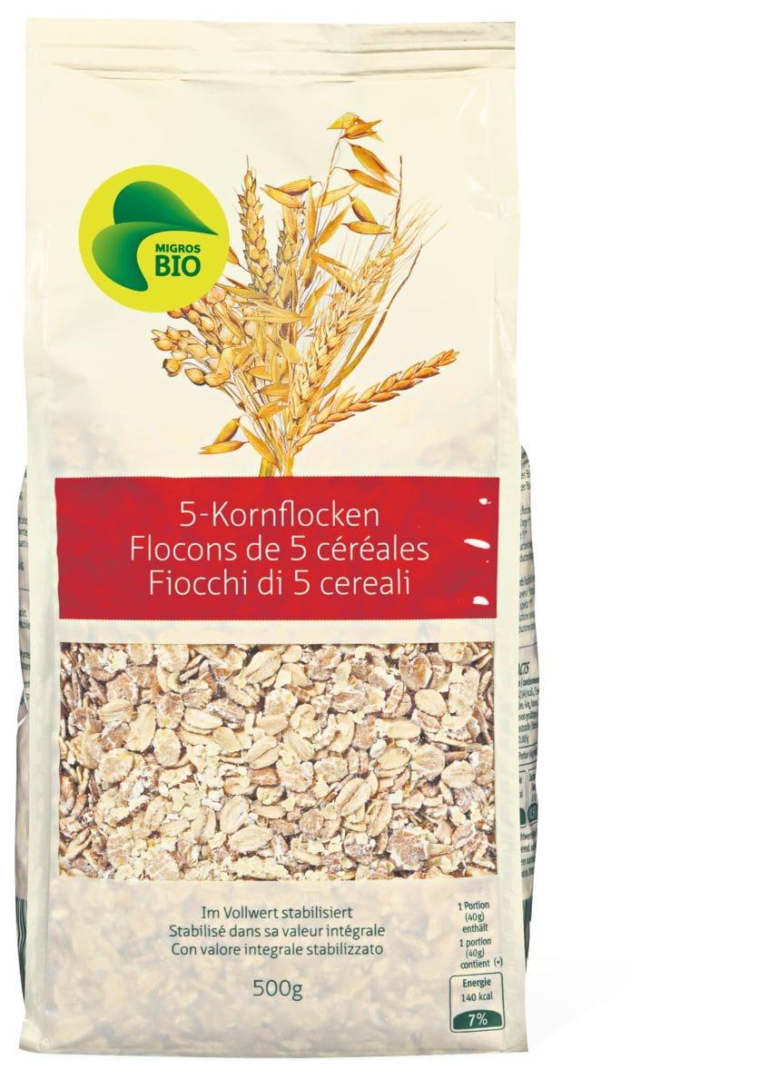 Bio 5-Korn-Flocken
