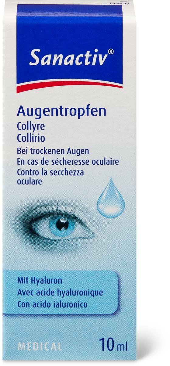 Sanactiv Augentropfen