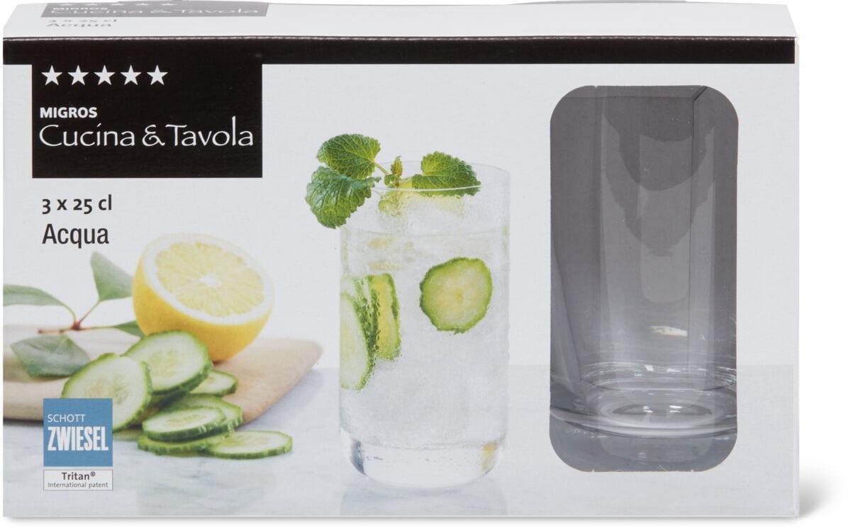 Cucina & Tavola CASTELLO Verre à eau