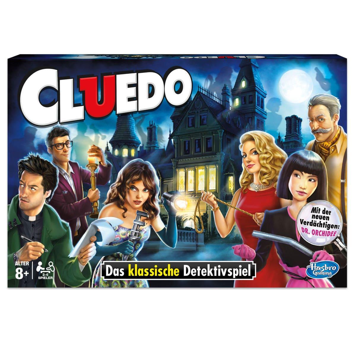 Hasbro Gaming Cluedo (D) Gesellschaftsspiel