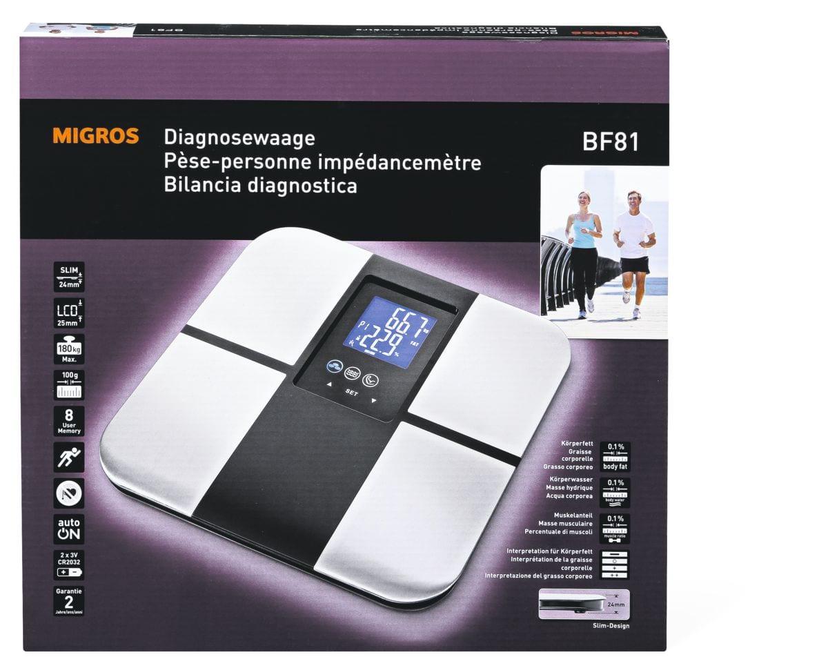 Pèse-personne impédancemètre BF81