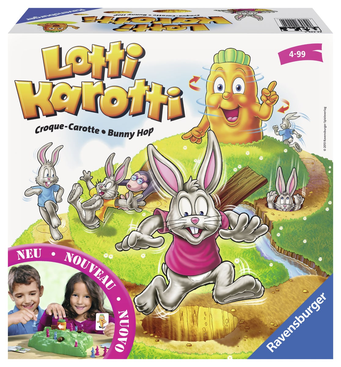 Ravensburger Bunny Hop Giochi di società