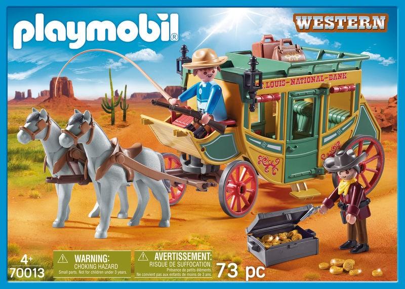 PLAYMOBIL 70013 Diligence Far-West