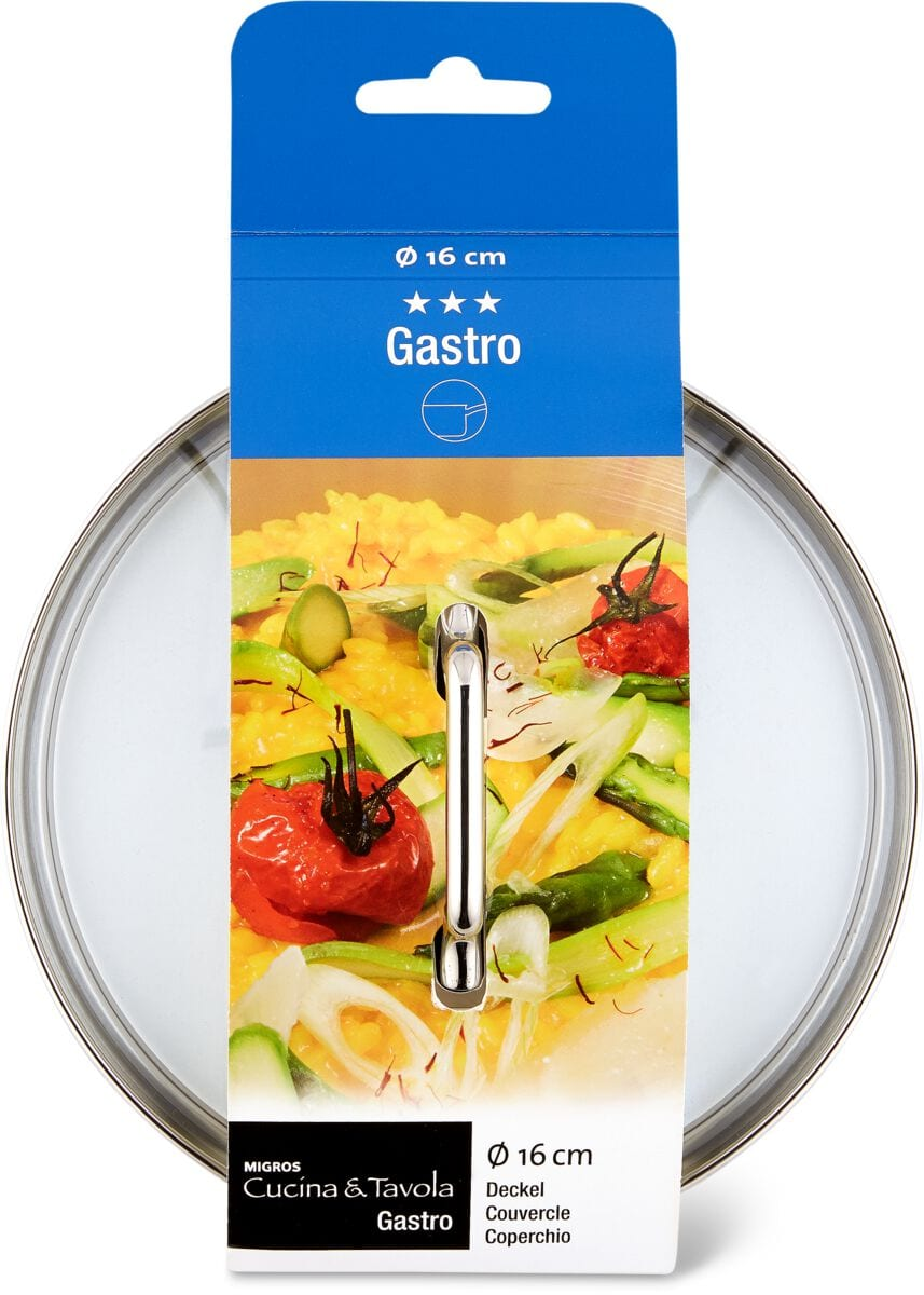 Cucina & Tavola GASTRO Couvercle 16cm