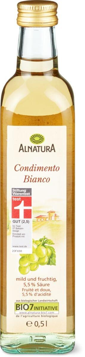 Alnatura condimento Balsamico bianco