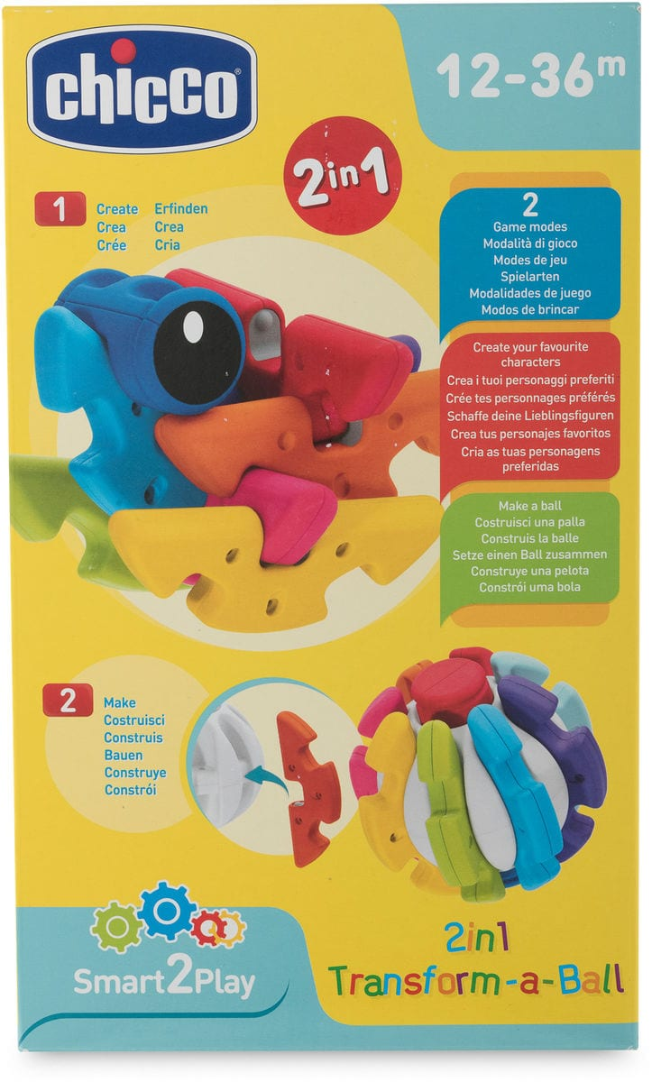 Chicco Transform-a-Ball Set di giocattoli