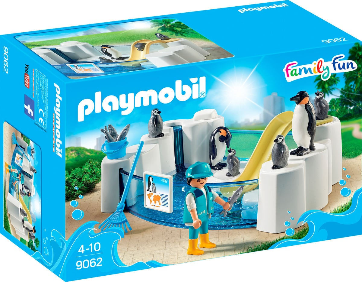 Playmobil Family Fun Bassin de manchots 9062