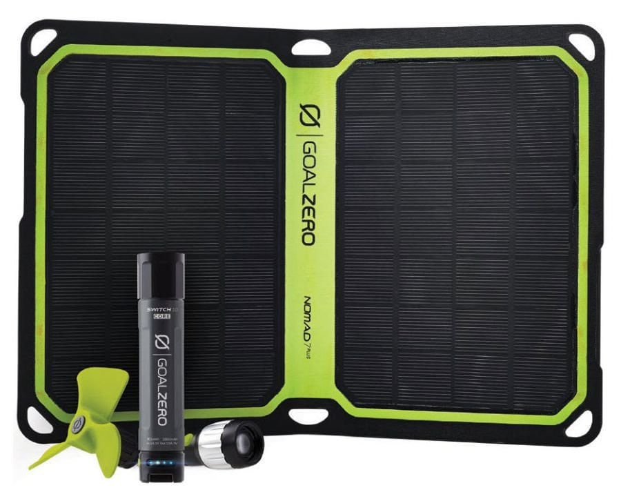GoalZero Powerbank Switch 10 inkl. Solarpanel