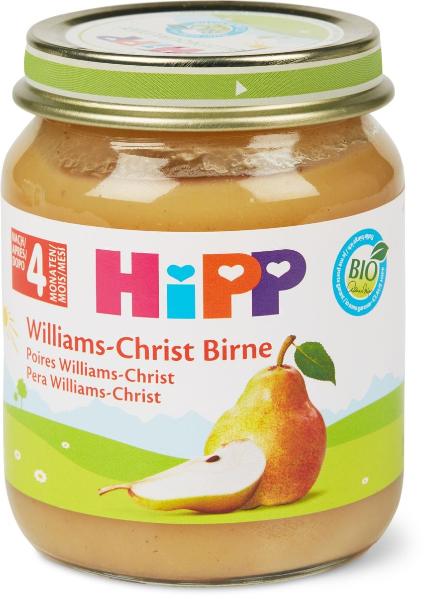 Bio HiPP Poires williams-christ
