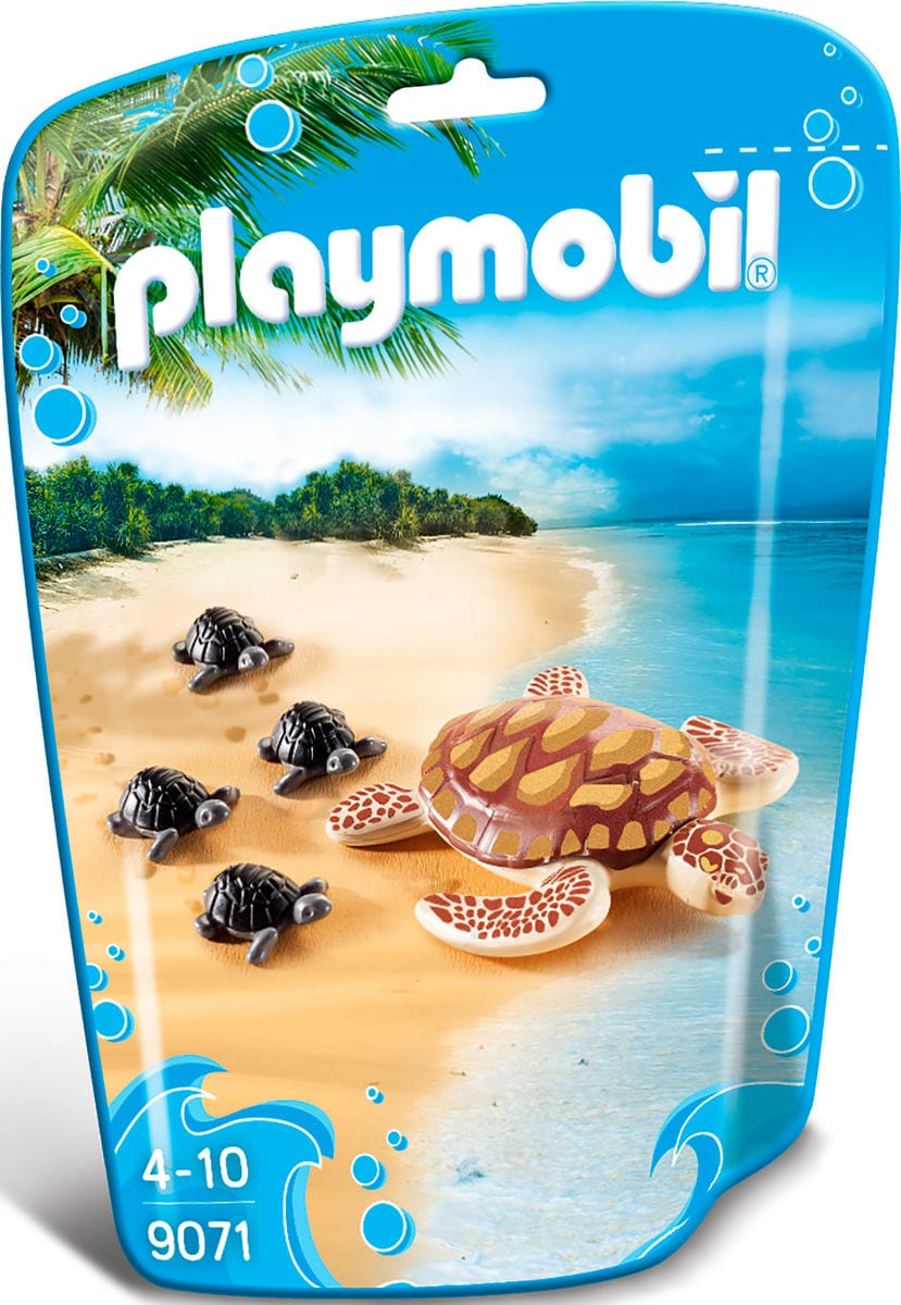 Playmobil Family Fun Tartaruga con cuccioli 9071