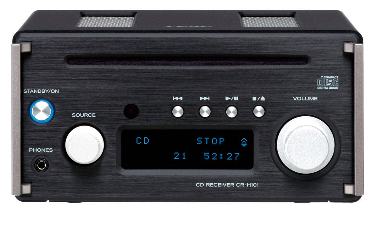 TEAC CR-H101DAB-B - Noir CD-Receiver