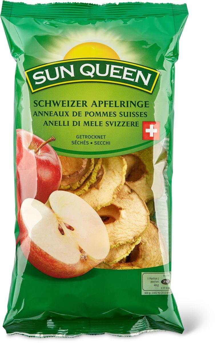 Sun Queen anelli di mele svizzere
