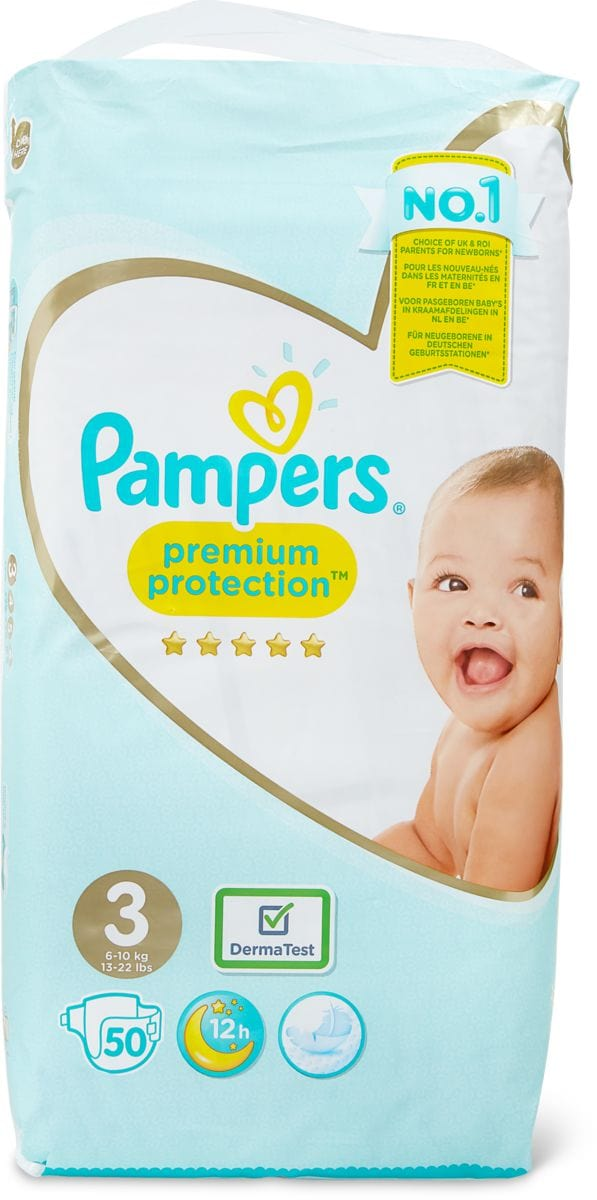 Pampers Premium Protection Gr. 3, 6-10kg