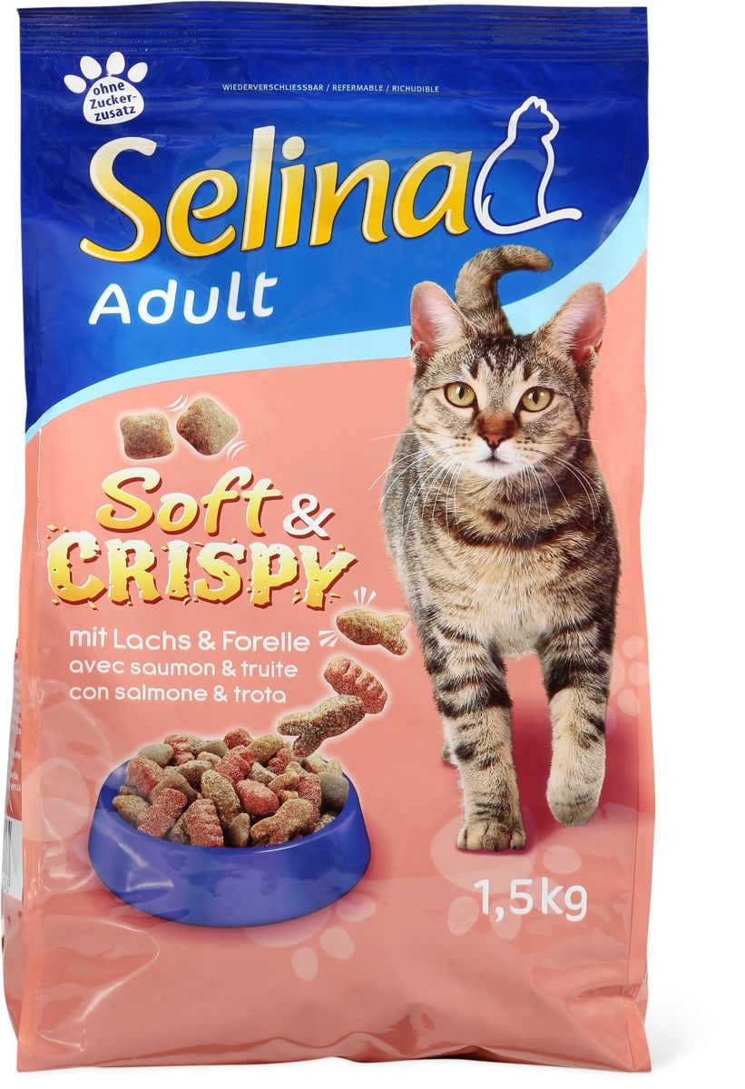 Selina Soft&Crispy mit Lachs & Forelle