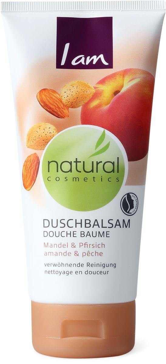 I am Natural Cosmetics douche amande&pêche