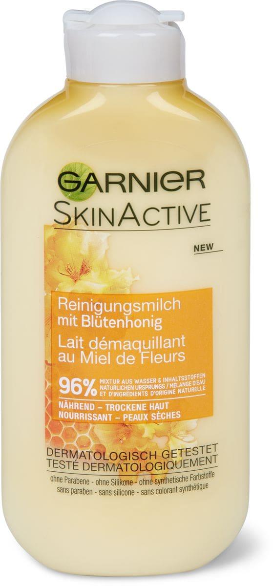 Garnier Natural Reinigungsmilk Honig
