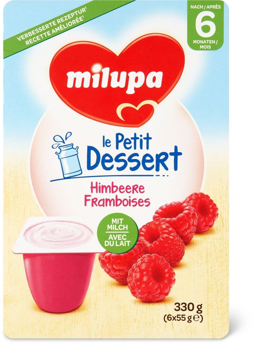 Milupa le Petit Dessert framboise