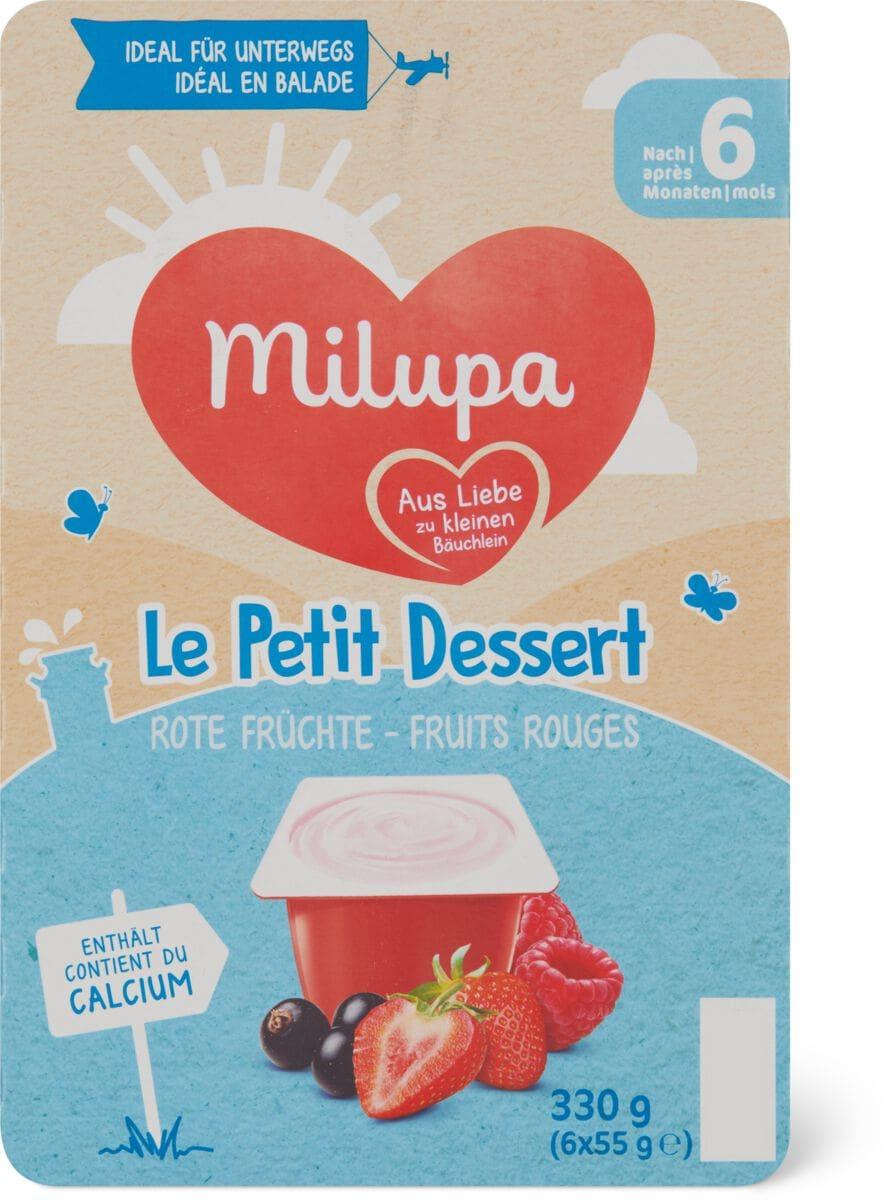 Milupa le Petit Dessert Fruits roug.
