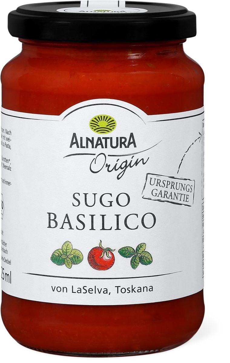 Alnatura origin Sugo basilico