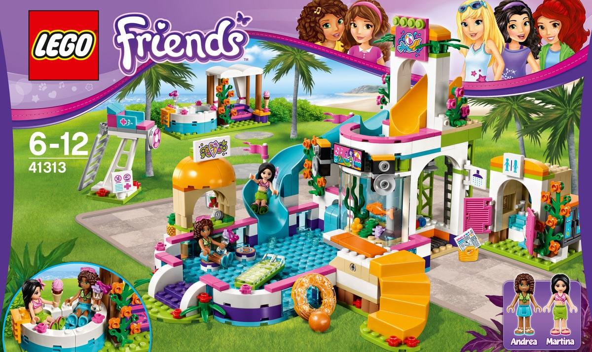lego friends la piscine d 39 heartlake city 41313 migros. Black Bedroom Furniture Sets. Home Design Ideas