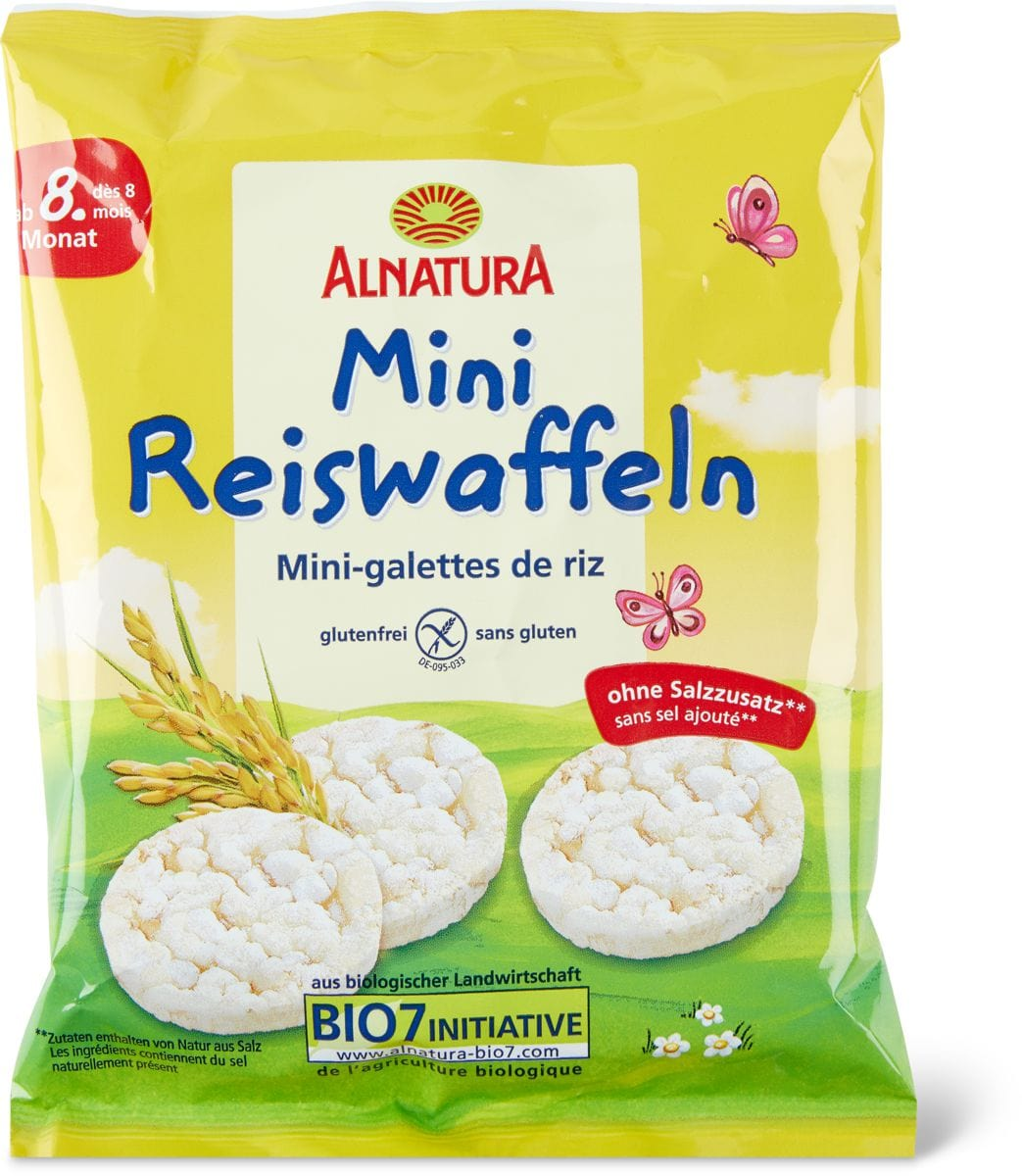 Alnatura Mini gallette riso