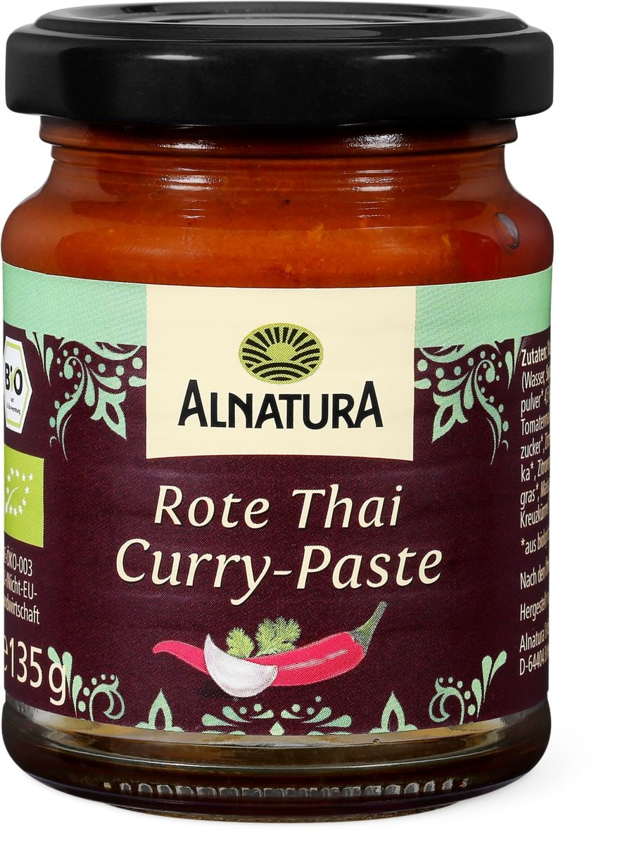 Alnatura Rote Thai-Curry Paste