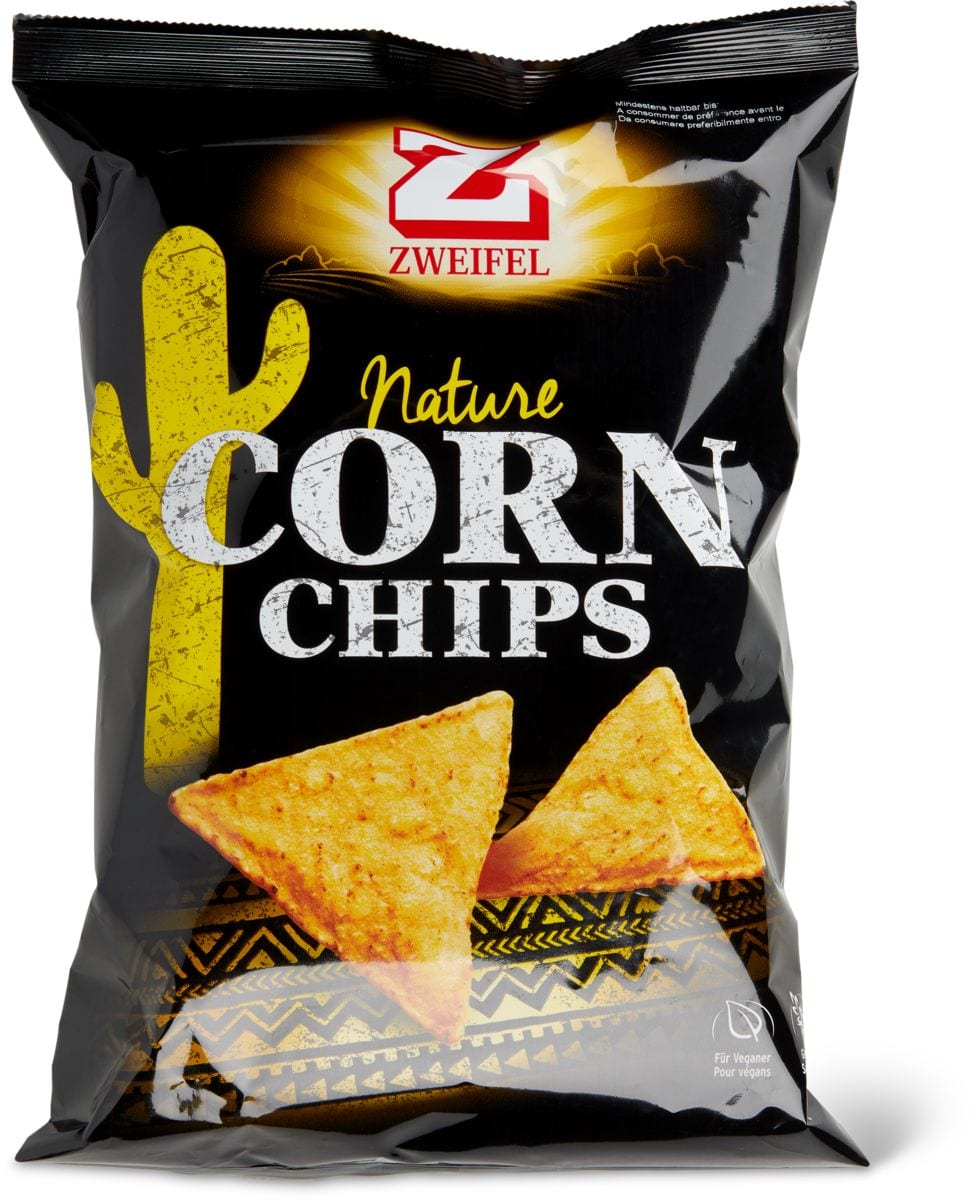 Zweifel Corn Chips Nature