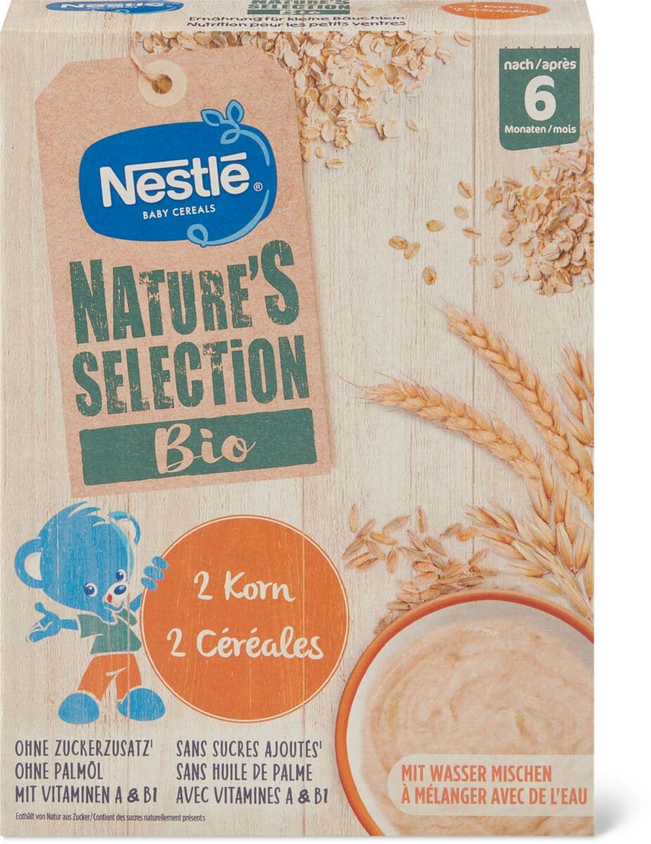 Nestlé Nature Selec. Brei 2 Korn