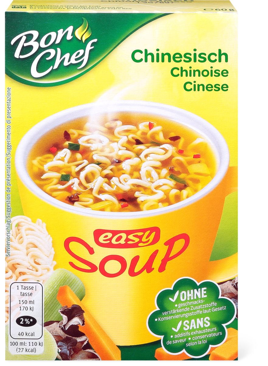 Bon Chef Easy Soup Chinesisch