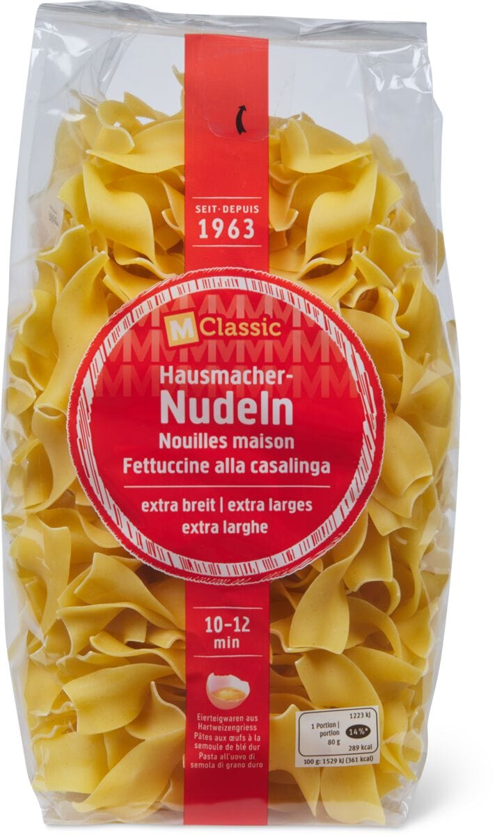 M-Classic Fettuccine alla casalinga largh